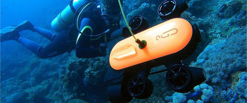 Unterwasserdrohne Geneinno Titan